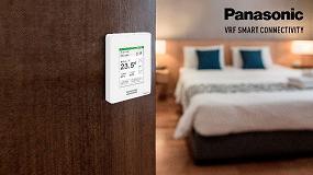 Foto de VRF Smart Connectivity de Panasonic para el sector hotelero