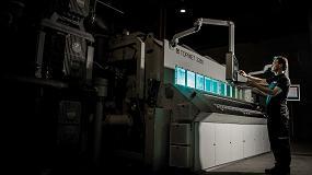Foto de Verosol aplica un propio proceso de metalización propio a sus tejidos