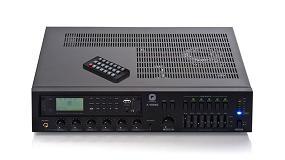 Foto de Optimus presenta el amplificador A-480MZ, un equipo compacto para instalaciones de megafonía de 480 W