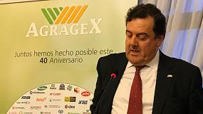 """Foto de Agragex confía en un """"repunte"""" de las exportaciones de maquinaria y componentes"""