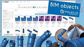 Foto de Nuevo contenido BIM de Molecor para la creación de tus proyectos
