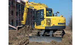 Foto de Moicano Rent analiza los beneficios de alquilar la miniexcavadora Komatsu PC 138 US-8