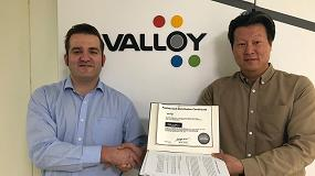 Foto de Top Label Press firma un acuerdo en exclusiva con Valloy para España y Portugal