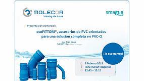 Foto de ecoFITTOM, accesorios de PVC orientados para una solución completa en PVC-O