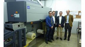 Foto de El Grupo Printeos instala una de las primeras Tau 330 RSC en la planta de Adhesivos del Segura