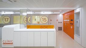 Foto de Hi-Macs, protagonista de la última renovación del Hospital Clínic de Barcelona