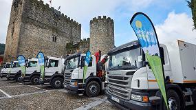 Foto de La Mancomunidad de Municipios del Bajo Tiétar incorpora seis Scania para la recogida de residuos