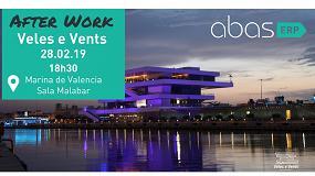 Foto de Abas organiza un After Work en Valencia el próximo 28 de febrero