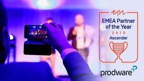 Foto de Prodware, 'Partner del Año – Ascender' en EMEA de Episerver