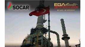 Foto de EGA Master fabrica herramientas para la gran refinería Socar en Turquía