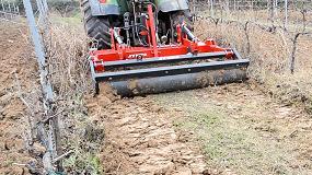 Foto de Nueva gama de descompactadores Jympa para viñedos y cultivos arbóreos