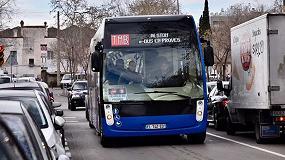 Foto de TMB prueba el Aptis, prototipo de autobús eléctrico de Alstom