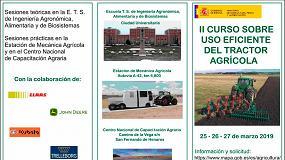 Foto de El MAPA organiza en Madrid un Curso sobre el Uso Eficiente del Tractor Agrícola