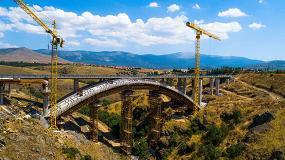 Foto de Ulma participa en el proyecto de construcción del puente en arco Eresma de Segovia