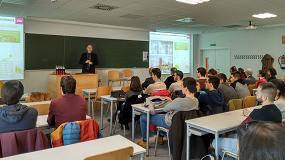 Foto de Ursa XPS en el premiado aulario IndUVa de Valladolid