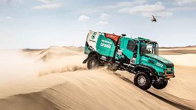 Foto de Varios camiones con cajas automáticas Allison finalizan el exigente rally Dakar 2019 entre los cinco primeros puestos