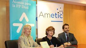 Foto de Ametic se suma a la Alianza para la Formación Profesional Dual