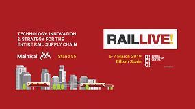 Foto de Ceit-IK4, Inycom y MainRail muestran sus aportaciones conjuntas al sector ferroviario en Rail Live 2019