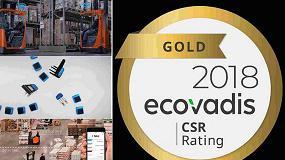 Foto de Toyota MHE, quinto premio EcoVadis Gold a la sostenibilidad