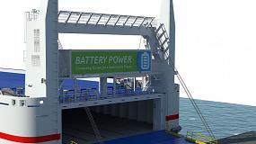 Foto de Stena Line ensaya con Callenberg el uso de baterías para propulsar los barcos