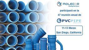 Foto de Molecor participará en la 47 reunión anual de la Asociación de Tuberías de PVC Uni-Bell
