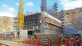 Foto de Solución integral de Ulma en la construcción de la mina a cielo abierto Toromocho de Perú