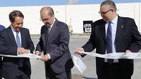 Foto de El presidente de Aragón inaugura la nueva fábrica de Pladur en Gelsa (Zaragoza)