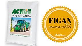 Foto de Un aditivo para purines de Deplan, seleccionado en el Concurso de Novedades de Figan 2019