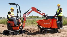 Foto de Kubota presenta sus últimas novedades en Bauma y anuncia la reestructuración de su unidad de negocio para construcción