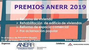 Foto de Anerr convoca unos Premios de Rehabilitación y Reforma en el marco de Rehabitar Madrid