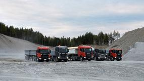 Foto de Scania muestra en Bauma cómo sus camiones y motores pueden asumir todo tipo de desafíos