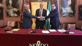 Foto de MMH, Contursa-Fibes y Cominroc firman un acuerdo que integra al 100% del sector minero en la organización del Congreso
