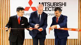Foto de Mitsubishi Electric muestra su Hybrid City Multi, sistema de climatización híbrido con R32 y agua en C&R 2019