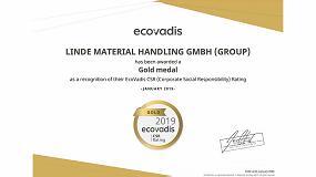 Foto de Linde Material Handling gana la medalla de oro EcoVadis por su trabajo en la Responsabilidad Social Corporativa