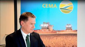 Foto de Gilles Dryancour, directivo de John Deere, presidente del Comité Estratégico de CEMA
