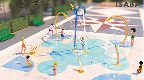 Foto de Isaba destaca las ventajas de los parques de agua infantiles en ámbitos urbanos con juegos interactivos