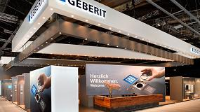 Foto de Geberit presentará su nuevo smart toilet en el mayor escaparate internacional de innovación para el baño