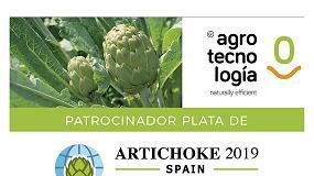 Foto de Grupo Agrotecnología patrocina en Simposio Internacional de Alcachofa