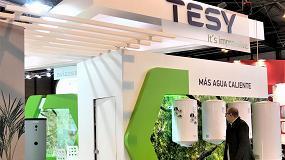 Foto de Balance positivo de la participación de Tesy en Climatización y Refrigeración 2019