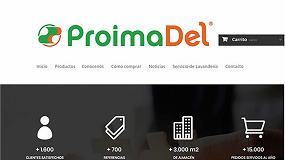 Foto de Proimadel renueva su imagen y lanza su tienda online