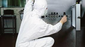 Foto de Vestuario para salas limpias en la industria farmacéutica