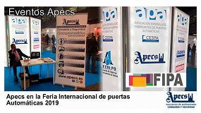 Foto de Apecs valora positivamente su participación en la Feria Internacional de Puertas Automáticas - FIPA