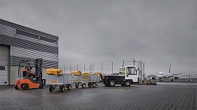 Foto de Toyota amplía su gama de tractores de arrastre T-motion para la manipulación de mercancías