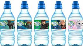 Foto de Los dragones llegan a las botellas de Agua de Cuevas