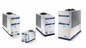 Foto de MTA muestra dos gamas para la refrigeración industrial en la industria del plástico