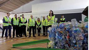 Foto de Aguas Danone España inaugura la primera planta de selección de envases del proyecto ReNueva