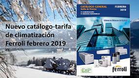 Foto de Nuevo catálogo-tarifa de climatización 2019 de Ferroli
