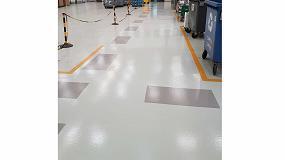 Foto de Corr-Unit Alifático, la pintura para suelos industriales de Protecta