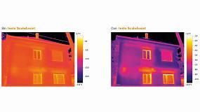Foto de Cámara termográfica para la medición de puentes térmicos y detección de aislamientos defectuosos en edificación