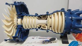 Foto de Renishaw muestra sus soluciones aditivas en la instalaciones de Optimus 3D